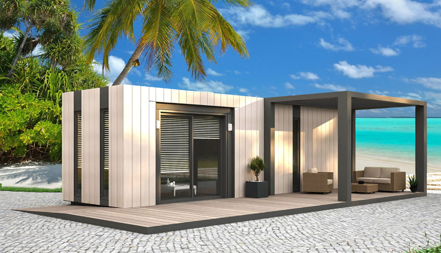 Portable pod buildings for the residential care industry, smart care pods